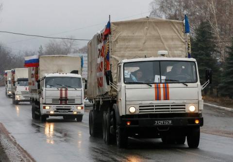 Росія відправила на окупований Донбас черговий «гумконвой»
