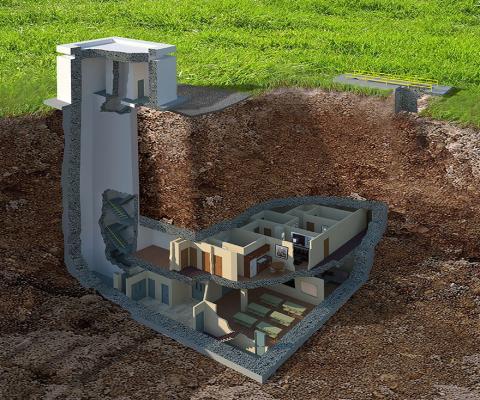 Як виглядає найдорожчий в світі ядерний бункер
