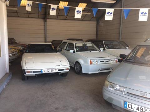 У Франції знайшли покинутий салон АвтоВАЗ (ФОТО)