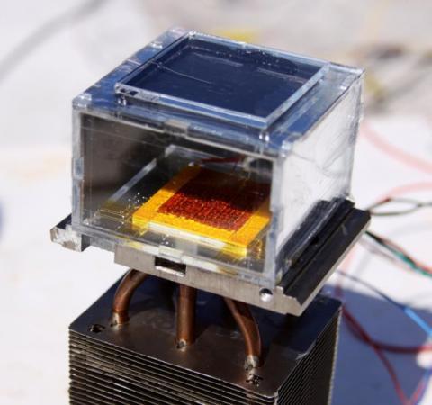 Науковці створили унікальний пристрій, який перетворює пил на воду (ФОТО+ВІДЕО)