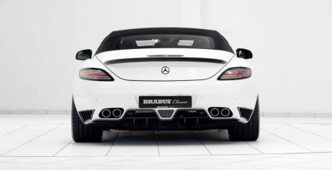 Brabus презентував розкішний родстер Mercedes-Benz SLS AMG (ФОТО)