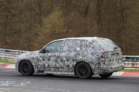 Стартували дорожні випробування BMW X5 нового покоління