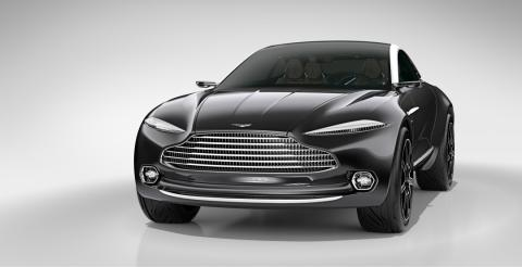 Aston Martin розсекретив свій перший кросовер (ФОТО)