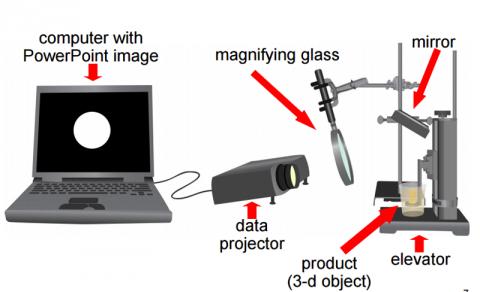 Китайські фізики перетворили звичайний проектор в 3D-принтер