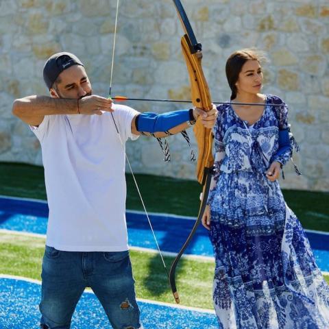 Російський співак Мот обвінчався з українською моделлю (ФОТО)