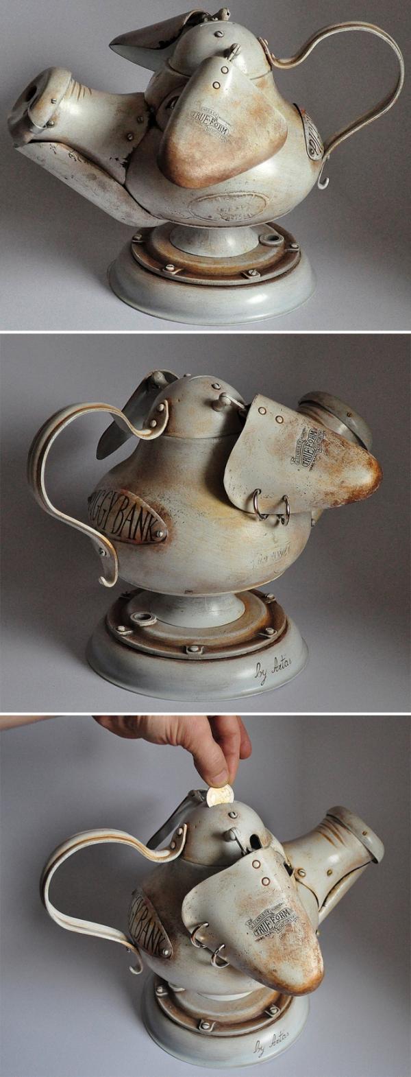 Ніщо не пропаде: фантастичні скульптури зі сміття (ФОТО)