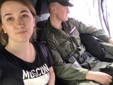 Затриману на акції в РФ «Надоел» активістку посадили