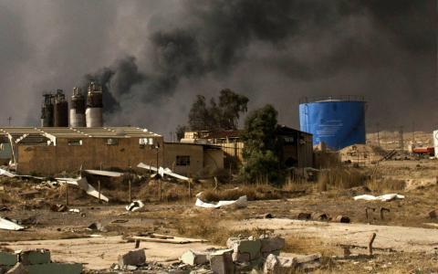 Мосул: журналіст зняв моторошне відео зруйнованого міста (ВІДЕО)