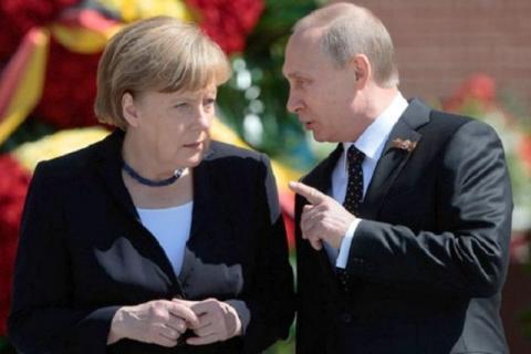 Путін та Меркель знову обговорювали ситуацію на Донбасі