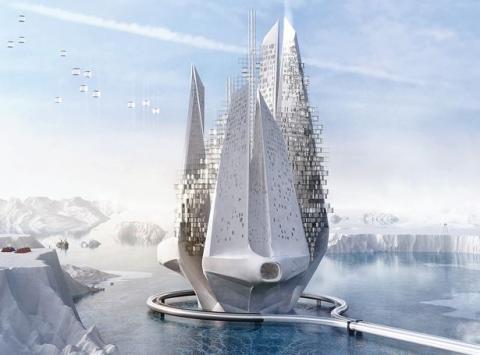 10 неймовірних ідей для будівель майбутнього: айсберг, Марс і будинок-ферма (ФОТО)