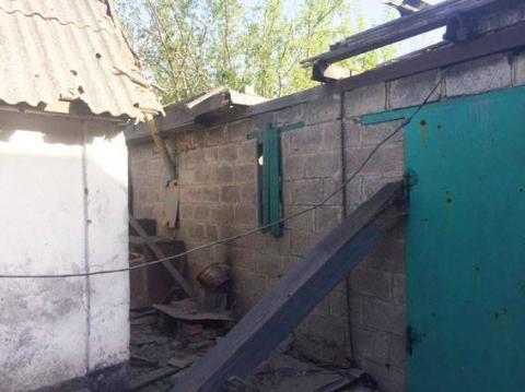 Бойовики обстріляли житловий сектор в Авдіївці (ФОТО)
