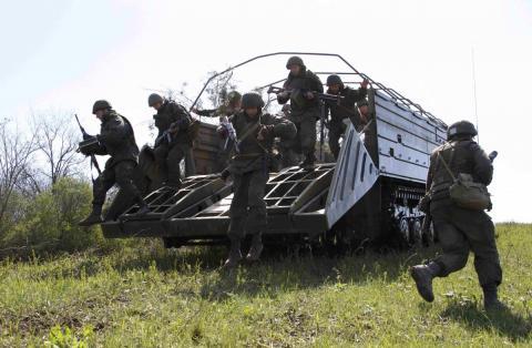 Під час навчань у зоні АТО загинув боєць, — штаб