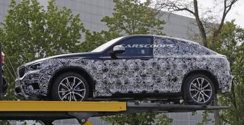 Журналісти розсекретили оновлене крос-купе BMW X4 (ФОТО)