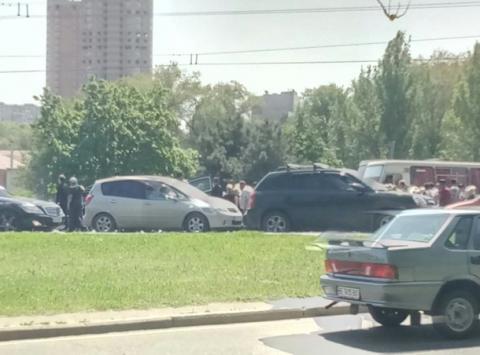 Одеса: через масштабний похорон барона зупинився рух транспорту (ФОТО)