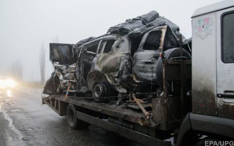 Бойовики хотіли підірвати авто ОБСЄ з росіянами, — ІС