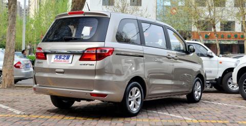 Компанія Jinbei презентувала бюджетний мінівен F50 (ФОТО)