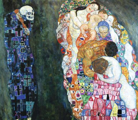 Реальні моделі відтворили знамениті картини Густава Клімта (ФОТО)