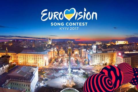 Євробачення-2017: учасники провели парад прапорів (ФОТО+ВІДЕО)