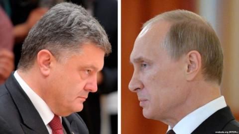 """Путін знову не привітав Порошенка з """"Днем Перемоги"""""""