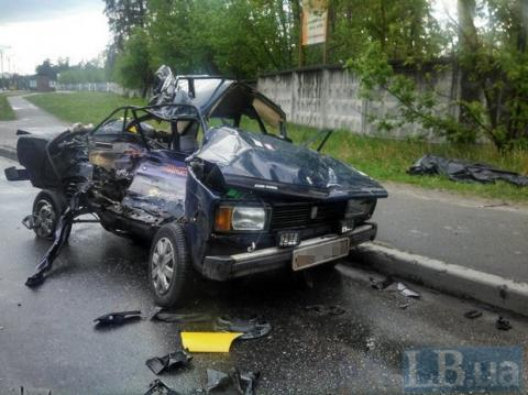 У Києві сталася жахлива ДТП, є жертви (ФОТО)