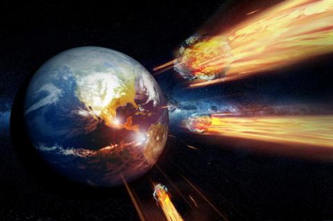 Вчені показали, як астероїд міг породити життя на Землі