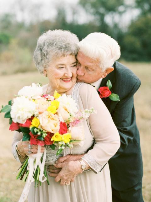Любов не іржавіє: фотосесія закоханих, які одружені 64 роки (ФОТО)