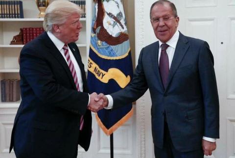 Що Трамп обговорював з міністром закордонних справ Росії