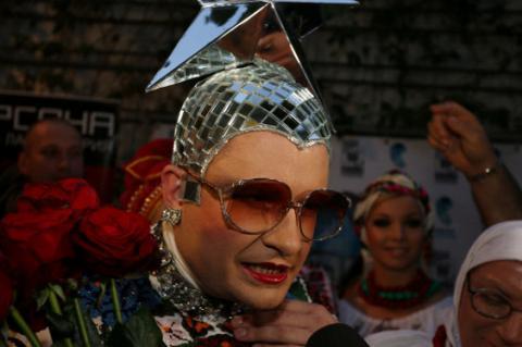Сердючка висловилася стосовно Євробачення