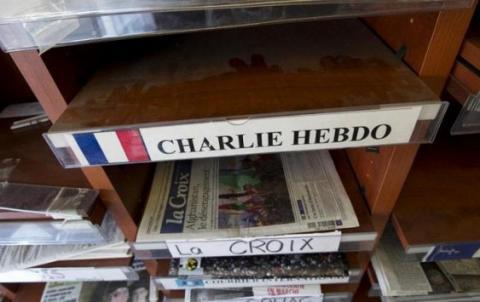 Charlie Hebdo опублікував карикатуру на Макрона і його дружину (ФОТО)