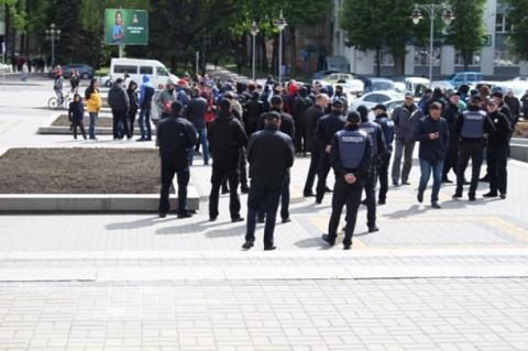 У Рівному мітингували за створення республіки (ФОТО)
