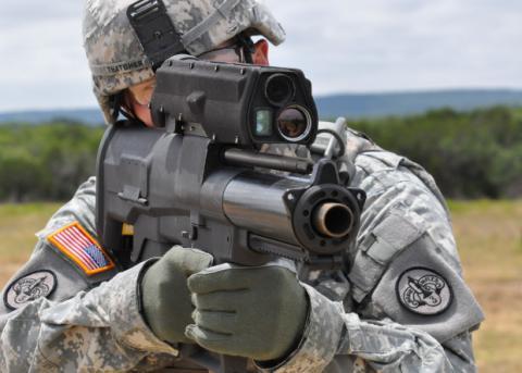 США відмовились від створення розумного гранатомету