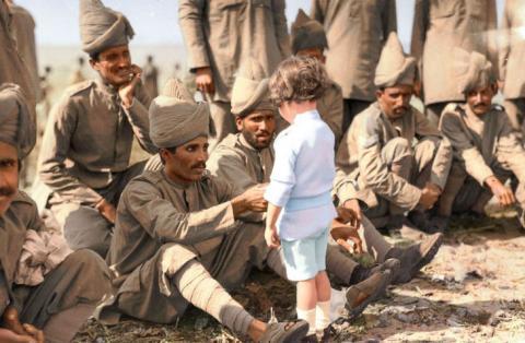 Невідоме минуле: як колір оживляє історичні фото (ФОТО)