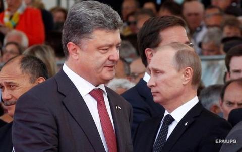 Порошенко відкрив деталі телефонної розмови із Путіним