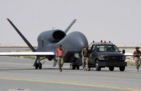 Безпілотник США здійснив розвідку на Донбасі