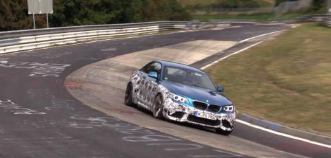 BMW протестував найпотужнішу версію M2 (ВІДЕО)
