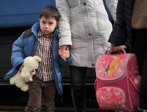 За офіційними даними в Україні нараховується більше 1,5 млн переселенців