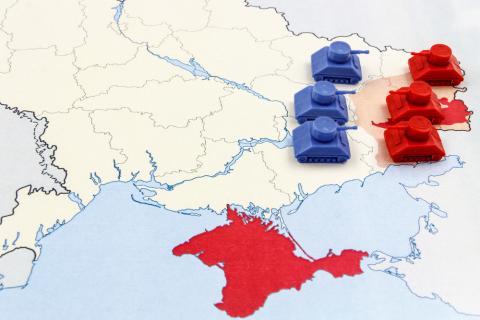 Прикордонники повідомили, що РФ готується до наступу в окупованому Криму (ВІДЕО)