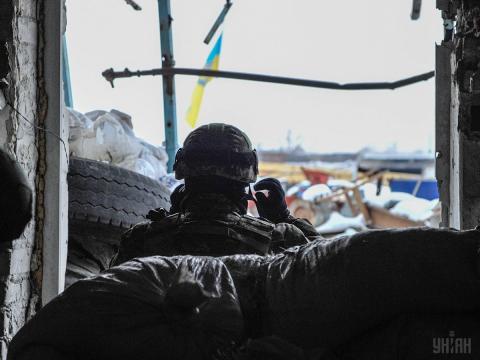 Ситуація на Донбасі: міномети, артилерія та двоє поранених