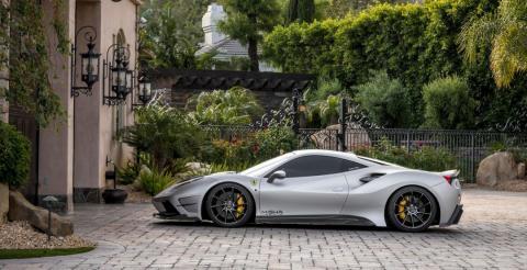 Ательє Misha Designs презентувало оновлений суперкар Ferrari 488 GTB (ФОТО)