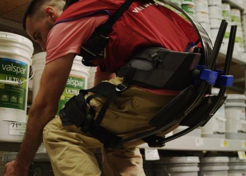 Інженери створили екзоскелет для вантажників (ВІДЕО)