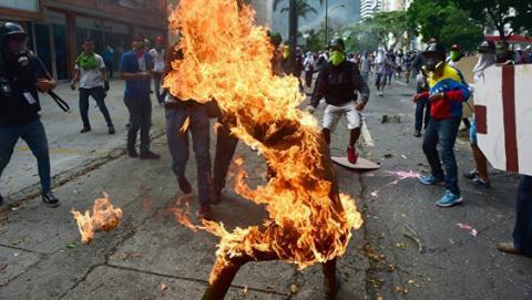 У Венесуелі в ході протестів вбили підлітка
