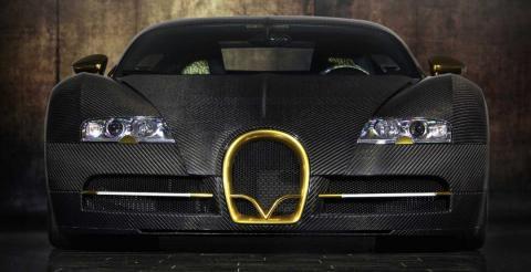 """""""Карбонова розкіш"""": на аукціон виставили унікальний спорткар Bugatti Veyron (ФОТО)"""