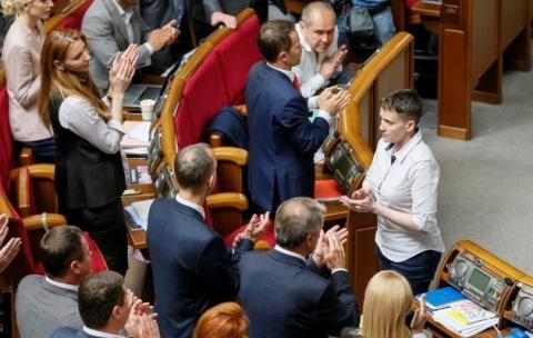 Савченко відреагувала на скасування власного закону