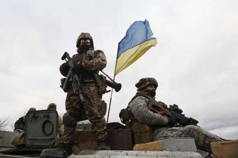 Україна завдала масованого артилерійського удару по бойовиках