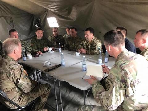 Українські військовослужбовці ввійдуть до сил НАТО (ФОТО)