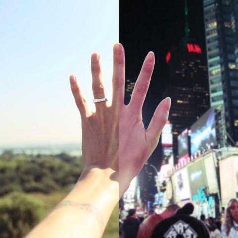Пара, яка знаходиться у відносинах на відстані, створює круті знімки, де вони разом (ФОТО)