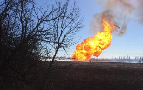 На Донбасі вибухнув склад бойовиків: майже 20 жертв