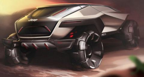Jeep показав автомобіль майбутнього