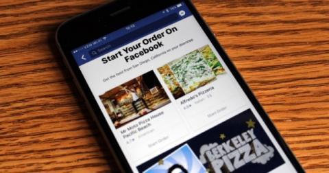 У Facebook з'явилася можливість замовлення їжі з найближчого ресторану