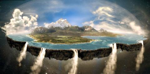 Блогера висміяли за експеримент з перевіркою Землі на плоскість